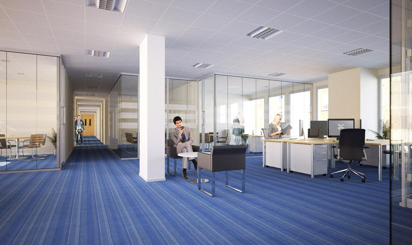 corporate office interiors dublin pedersen focus 3d