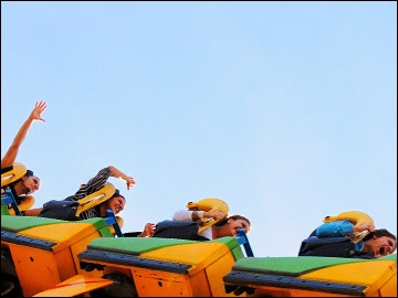 Roller Coaster – Tayto Park, Co.Meath