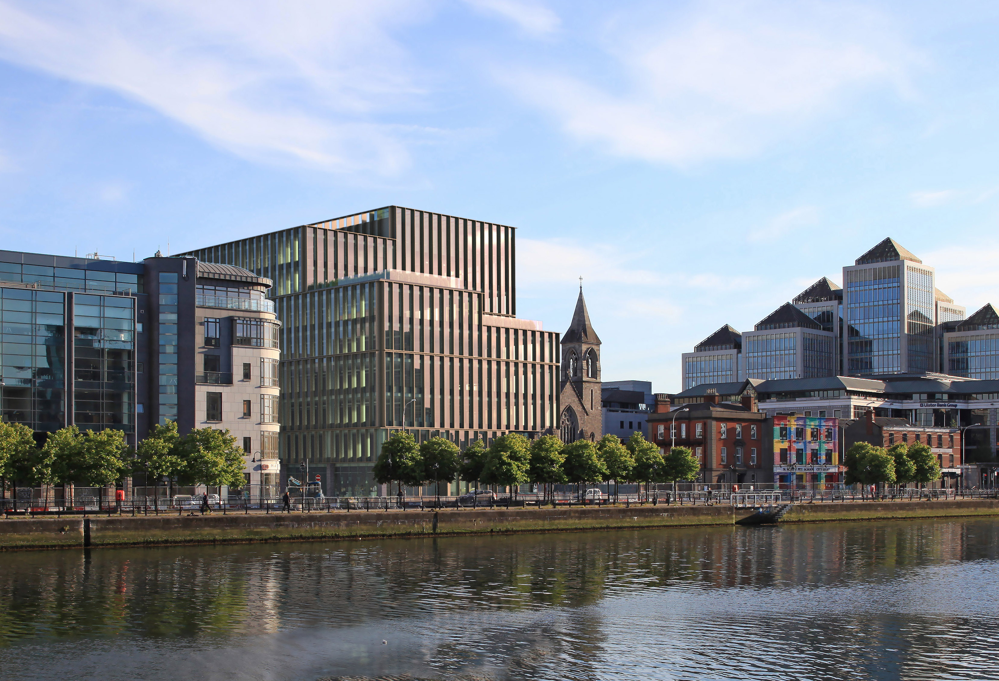 City Quay planning photomontages