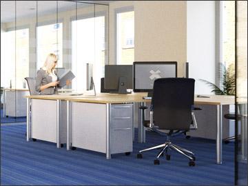 Corporate office interiors, Dublin