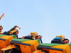 Tayto Park Roller Coaster – Ashbourne, Co. Meath, Ireland